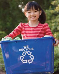 Recycling for residents